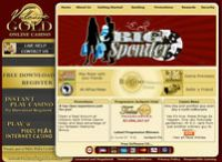 Volcanic Gold Online Casino Microgaming Website ScreenShot