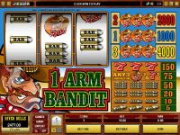 1 Arm Bandit Microgaming Slot