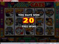 Alley Cats Microgaming Slot