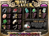 Best of Luck Rival Slot