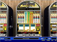 Black and White Gold 1 Line Parlay Slot