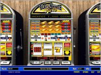 Black and White Gold 5 Line Parlay Slot