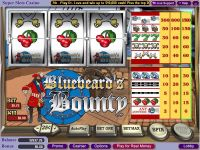 Bluebeard's Bounty Vegas Technology Slot
