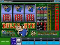 Bulls Eye Mini Microgaming Slot