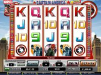 Captain America - Action Stacks! CryptoLogic Slot