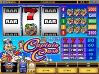 Captain Cash Microgaming Slot
