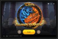 Clash of the Beasts Red Tiger Gaming Slot