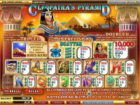 Cleopatra's Pyramid WGS Technology Slot