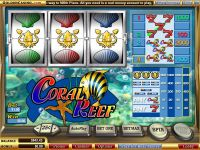 Coral Reef WGS Technology Slot