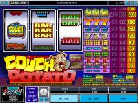Couch Potato Mini Microgaming Slot
