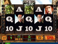Cowboys and Aliens PlayTech Slot