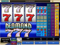 Diamond Sevens Microgaming Slot