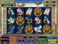 Fire, Wind and Water NuWorks Slot