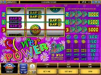 Flower Power Microgaming Slot