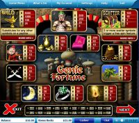 Genie Fortune Leap Frog Slot