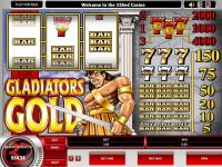 Gladiator's Gold Microgaming Slot