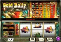 Gold Rally 1 Line PlayTech Slot