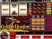 Golden Dragon Microgaming Slot