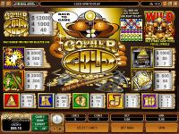 Gopher Gold Microgaming Slot
