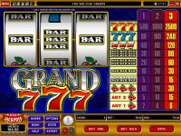 Grand 7's Microgaming Slot