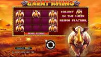 Great Rhino Pragmatic Play Slot