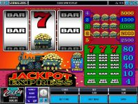 Jackpot Express Microgaming Slot