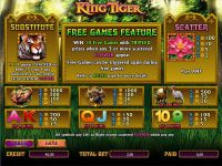 King Tiger bwin.party Slot