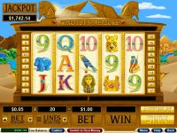 King Tut's Treasure RTG Slot