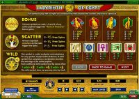Labyrinth of Egypt 888 Slot