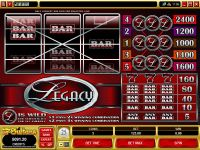 Legacy Mini Microgaming Slot