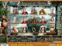 Legend of Terra NeoGames Slot