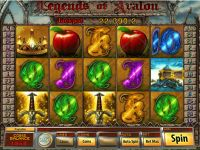 Legends of Avalon Saucify Slot