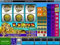Lions Share Microgaming Slot