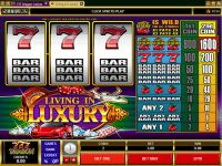 Living in Luxury Microgaming Slot