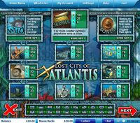 Lost City of Atlantis Leap Frog Slot