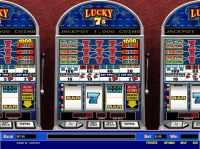 Lucky 7's 5 Line Parlay Slot