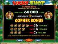 Lucky Shot Microgaming Slot