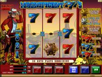 Magnificent 777's Microgaming Slot