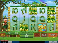 Plenty O'Riches PlayTech Slot
