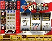 Red White Blue 5 Lines Topgame Slot