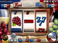 Red White & Blue Rival  Slot