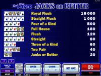 Reel Play Poker - Jacks or Better Microgaming