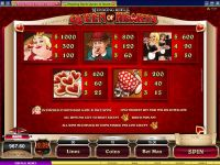 Rhyming Reels - Queen of Hearts Microgaming Slot
