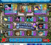 Riches of Wonderland Leap Frog Slot