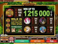 Robin Hood Feathers of Fortune Microgaming Slot