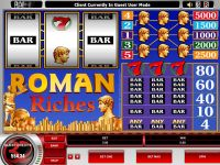 Roman Riches Microgaming Slot