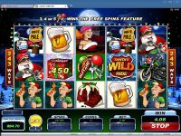 Santa's Wild Ride Microgaming Slot