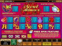 Secret Admirer Microgaming Slot
