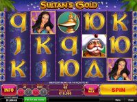 Sultan's Gold PlayTech Slot