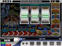 The Gee Gees Microgaming Slot